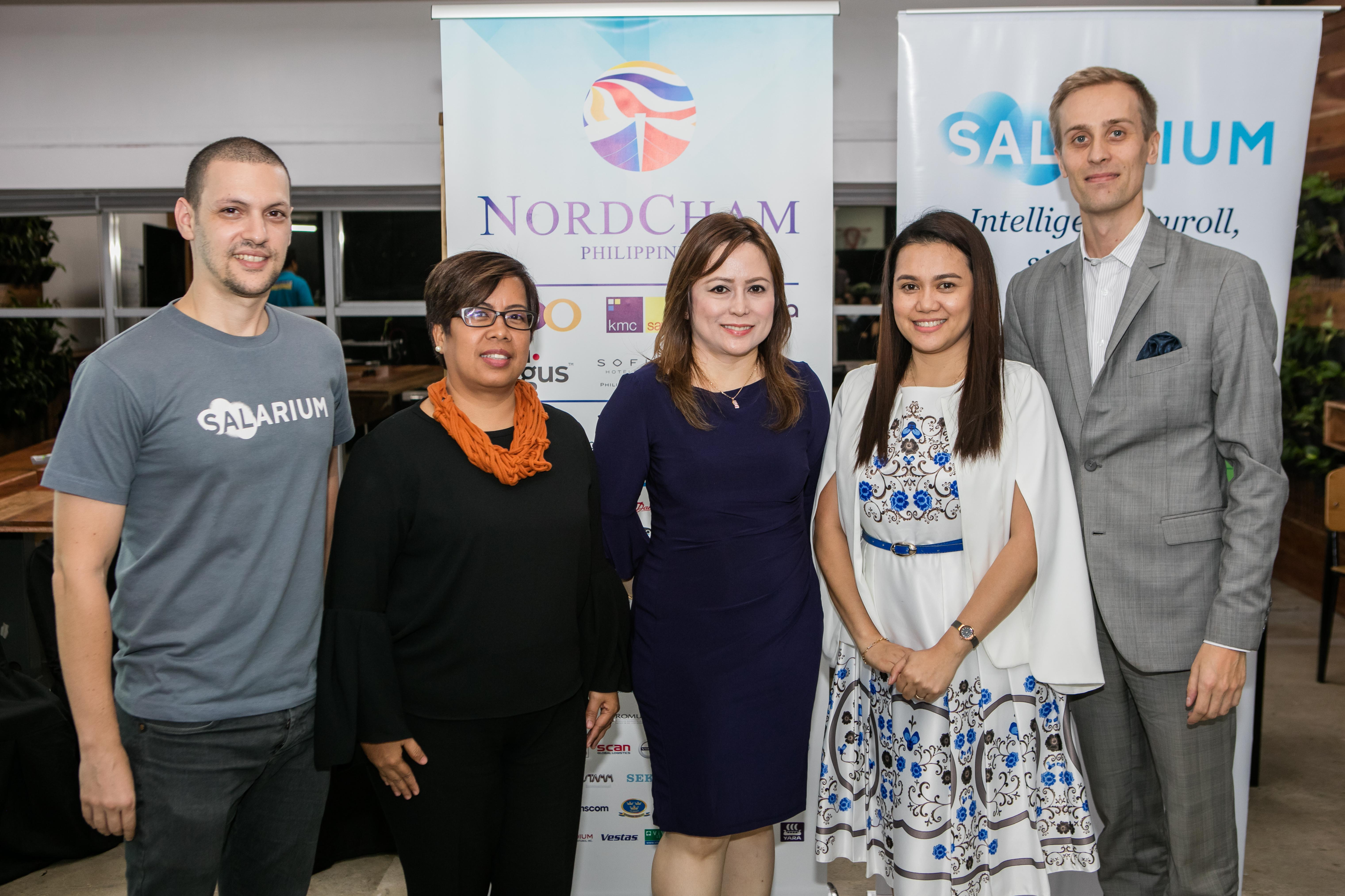 Salarium and NordCham PH Host Discussion and Networking Night with 2018 Outstanding Employer Finalists