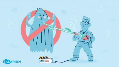 Ghosts might be haunting your company!